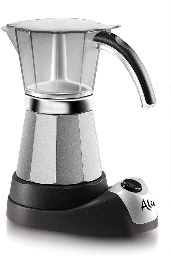 De Longhi EMK6 Alicia Electric Moka Pot